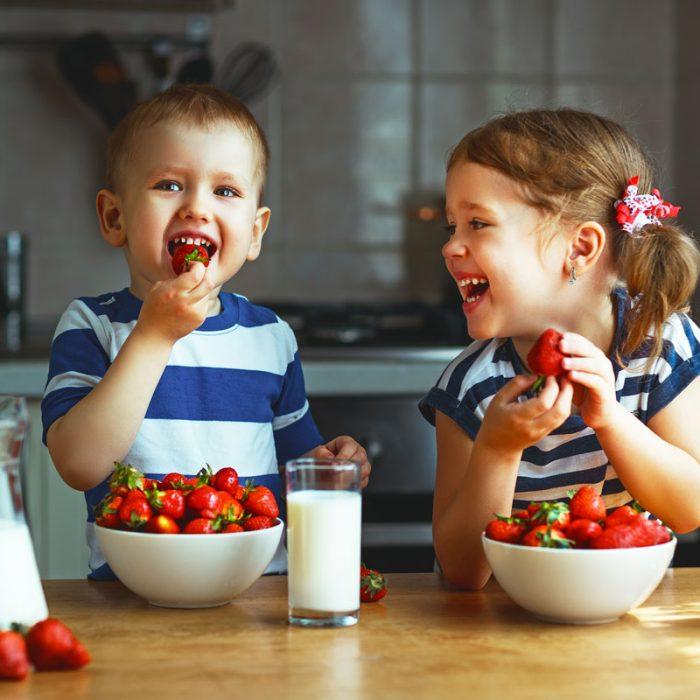 Alimentazione: le buone abitudini si imparano da piccoli